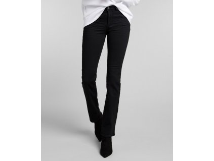 Dámské JEANS H.I.S 101564 COLETTA STRETCH Pure Black Wash