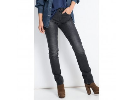 Dámské JEANS H.I.S 101421 MARYLIN STRETCH Premium Black Wash