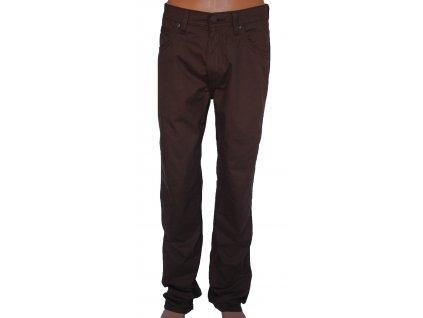 Kalhoty WRANGLER W12OH139A ARIZONA STRETCH Brick brown