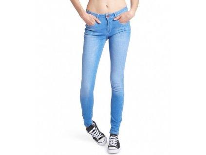 Dámské džíny HIS 101298 LORRAINNE SUPERSKINNY Ligh Blue Wash