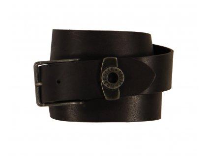 Kožený opasek WRANGLER W0097US01 Black