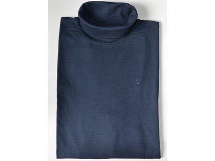 Pánské triko s rolákem HAJO 20016/4 609 Marine