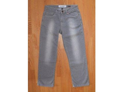 Dámské 3/4 džíny HIS 102-10-520 MARA STRETCH LIght Grey