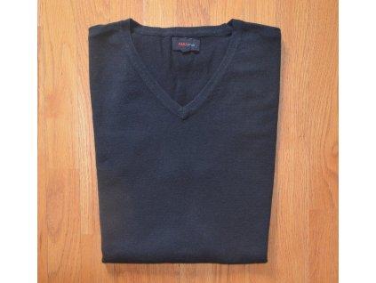 Pánská pletená vesta AMJ černá 100