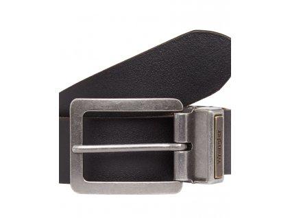Kožený opasek WRANGLER W0491US01 Black