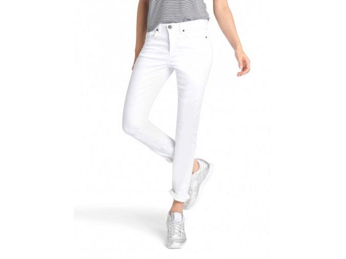 dámské bílé strečové kalhoty h.i.s 100300