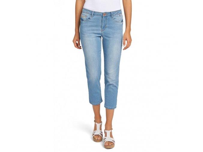 Dámské 3/4 džíny HIS 100963 MARYLIN STRETCH Sun Dry Blue