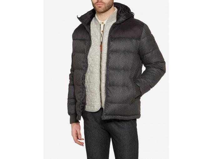 Pánská zimní bunda WRANGLER W4635YU01 Black