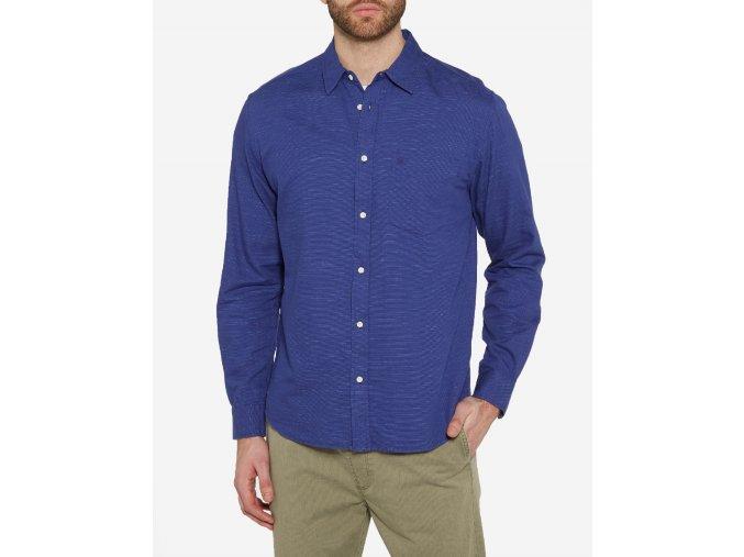 Pánská košile WRANGLER W59239L6U REGULAR FIT Surf The Blue