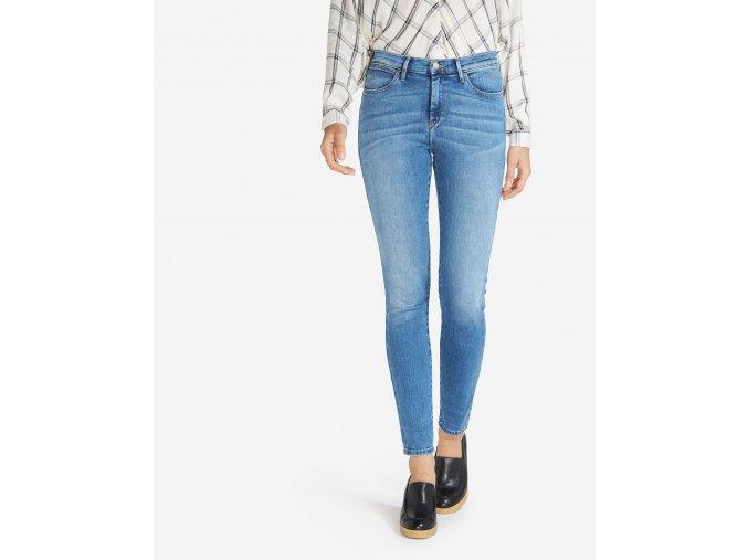 dámské jeans wrangler W27HX794O vysoký sed