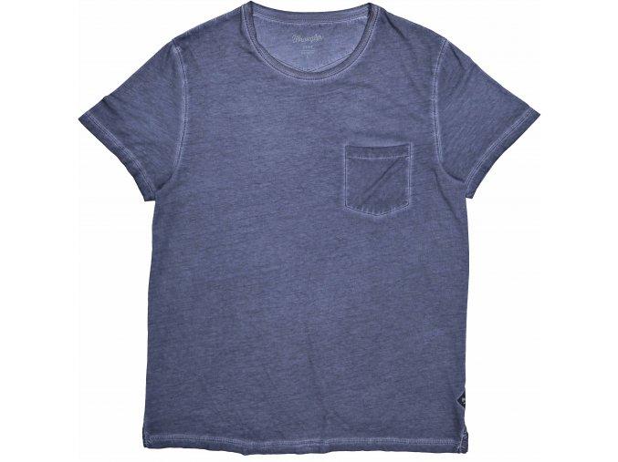pánské tričko wrangler W7A62E835