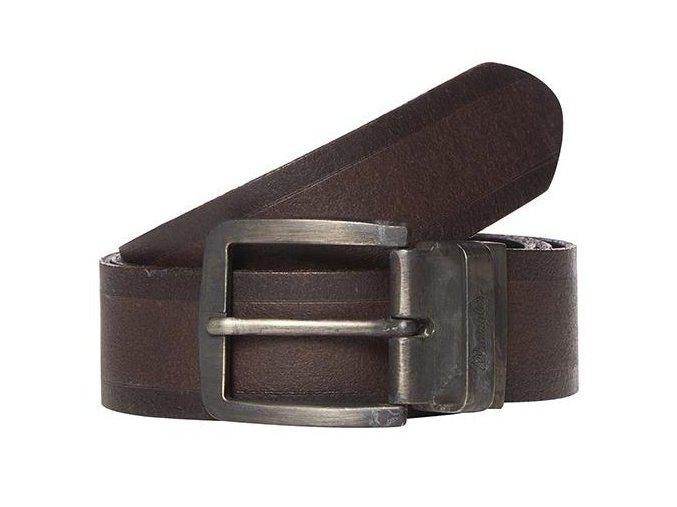 Kožený opasek WRANGLER W0317US85 Brown