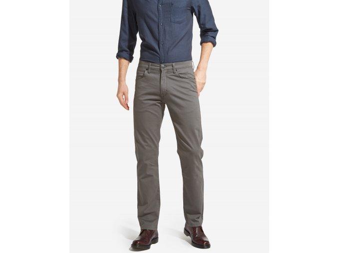 pánské šedé kalhoty W12OFF23T