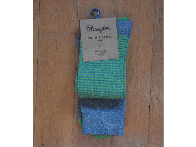 Pánské ponožky WRANGLER Šedá