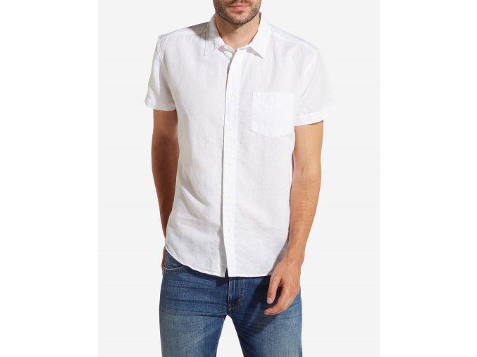 pánská bílá košile W5860LO12