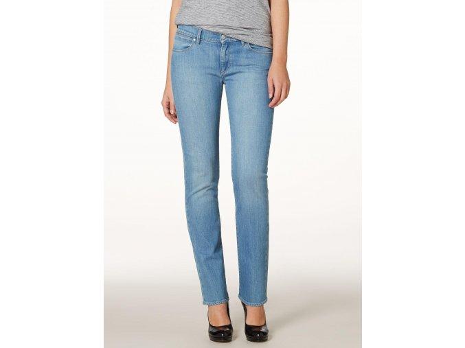 dámské světle modré džíny wrangler