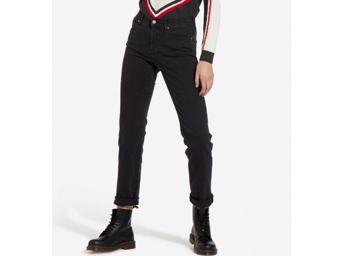 dámské černé džíny wrangler W27GLX25R