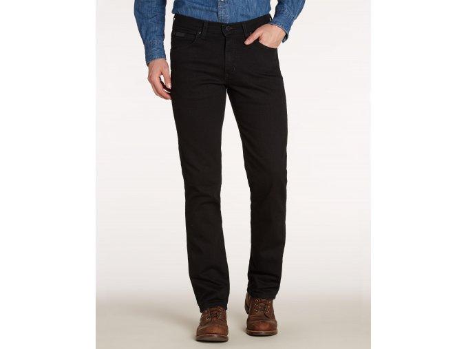 pánské černé džíny wrangler W12ONP023