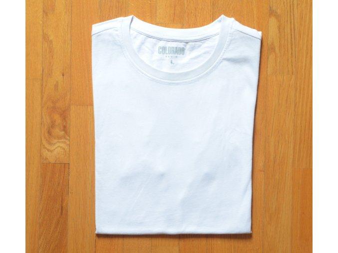 Pánská trička COLORADO DENIM 18032 White 2 KUSY