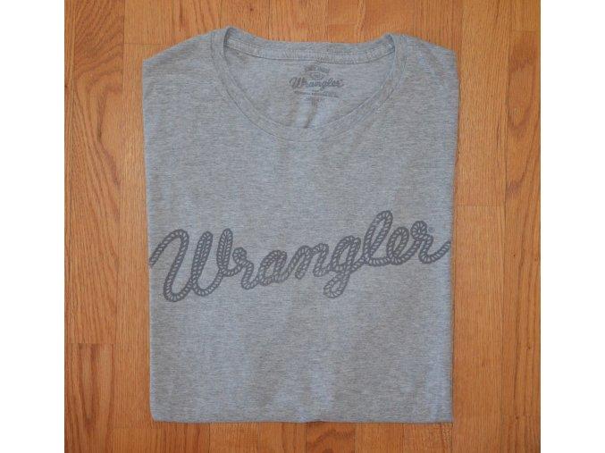Pánské tričko WRANGLER W7883FQXX REGULAR FIT Grey