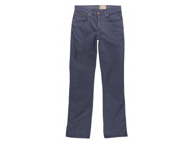 pánské modré plátěné kalhoty wrangler W12OAH49I
