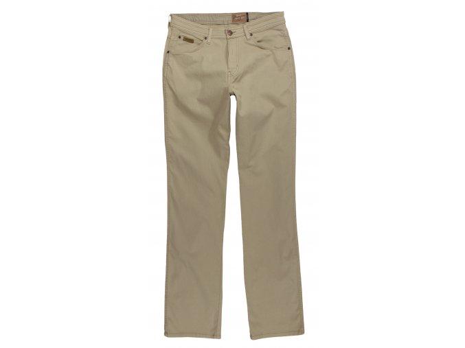 pánské světlé plátěné kalhoty wragler W12OAH49J