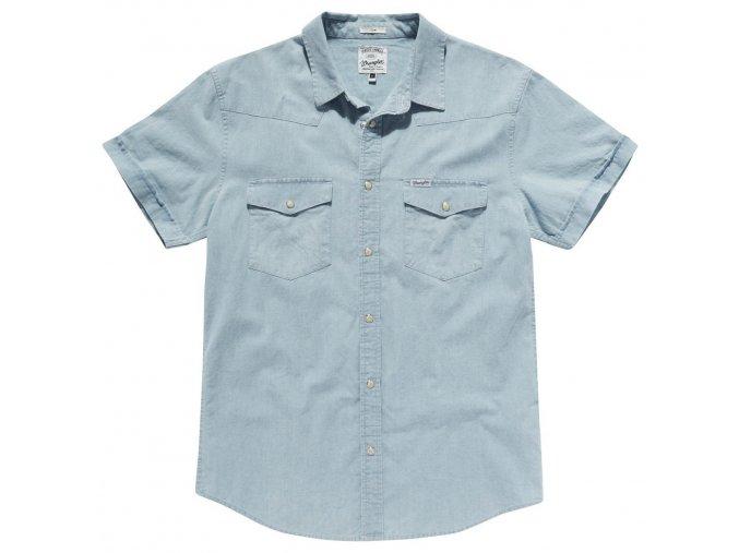Pánská košile WRANGLER W58401G4E SLIM FIT