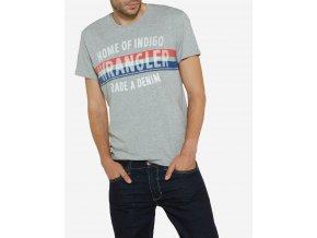 pánské tričko wrangler W7A52FK37