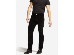 černé manžestrové kalhoty W12OEC100