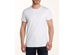 Pánské tričko WRANGLER W7881FQ01 White REGULAR FIT