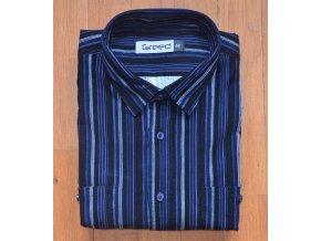 Pánská manžestrová košile AMJ Greed SDM 350 Modrá