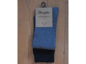 Pánské ponožky WRANGLER Černá a šedá