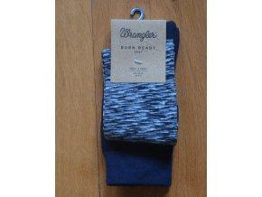 Pánské ponožky WRANGLER Černá a modrá