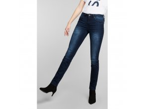 Dámské JEANS H.I.S 101566 MARYLIN STRETCH Advanced Blue Black Wash