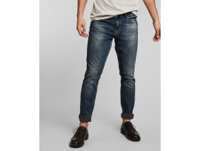 Džíny H.I.S 101726 CLIFF STRETCH Advanced Medium Blue Wash