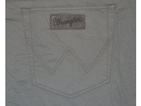 Kalhoty WRANGLER W121OO181 TEXAS STRETCH Army Grey