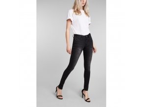 Dámské JEANS H.I.S 101728 LORRAINNE SUPERSKINNY Advanced Black Wash