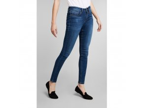 Dámské JEANS H.I.S 101575 LORRAINNE SUPERSKINNY Advanced Medium Blue Wash