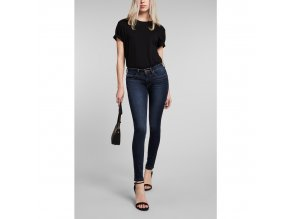 Dámské JEANS H.I.S 101574 LORRAINNE SUPERSKINNY Advanced Dark Blue Wash