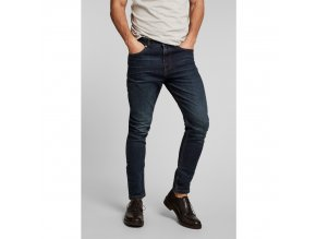 Džíny H.I.S 101558 ELLIOT STRETCH Pure Dark Blue Wash