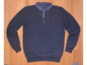 Pánská mikina DERBY 34-2003 Tmavě modrá