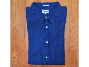 Košile WRANGLER W5A1B689X Indigo Blue