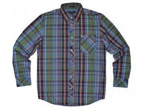 Pánská košile H.I.S 103-04-503 REGULAR FIT Green Check
