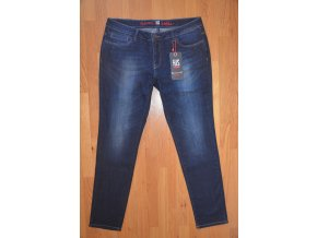 Dámské džíny HIS 100125 CHERRY STRETCH Intense Blue Wash