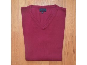 Pánská  pletená vesta AMJ fialová 303