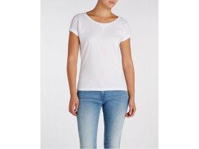 bílo tričko wrangler
