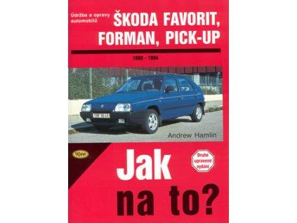 Škoda Favorit, Forman, Pick-up 1989 - 1994