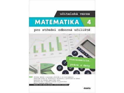 Matematika 4 pro SOU učitelská verze