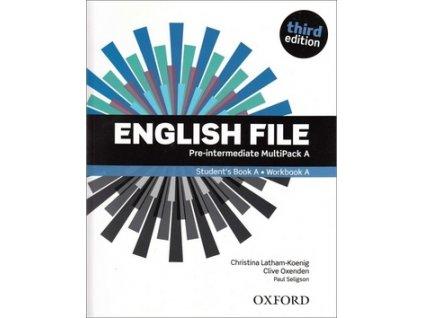 English File Third Edition Pre-intermediate Multipack A