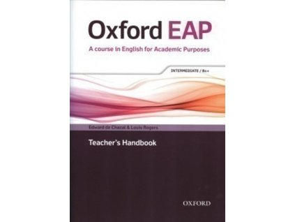 Oxford English for Academic Purposes B1+ Teacher´s Handbook